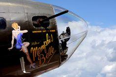 Memphis Belle Vintage Fighter Plane Met Capt Robert Morgan some years ago....RIP Capt Morgan