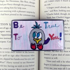 Be True To You Bird Magnet, Bird Magnet, Inspirational Magnet, Motivational Magnet, Kitchen Decor, Refrigerator Magnet, Stocking Stuffer by DivinitysDivineTouch on Etsy
