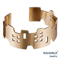 Siluetti (Silhouette) bracelet, Kalevala jewelry, Finnish design