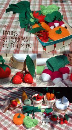 Food Crafts, Diy Crafts, Diy For Kids, Crafts For Kids, Felt Food, Play Food, Sewing Toys, Homemade Crafts, Felt Diy
