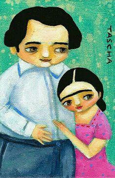 Frida Kahlo & Diego -Tascha