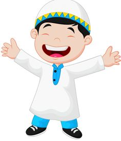Muslim Islam And Eid Mubarak Cartoon Quotes, Cartoon Images, Cartoon Styles, Islamic Baby Names, Baby Name Letters, Islamic Wallpaper Hd, Islamic Cartoon, Ramadan Crafts, Name Pictures