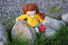 My Crochet Doll pattern by Isabelle Kessedjian