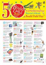 50 Ways to Celebrate Roald Dahl Day