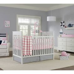 product image for Nautica Kids® Mix & Match Crib Bedding Collection in Pink