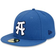 281f43f5f Asheville Tourists Authentic Road Fitted Cap - MLB.com Shop Flat Bill Hats