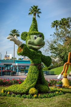 Fantasia Mickey Mouse Topiary | by d-harding