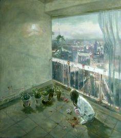 Huang Jingzhe.  Big city no. 16