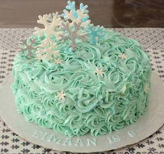 Butter cream frozen cake !!