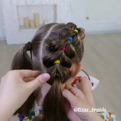 Cool Kids Hairstyle Black Girl Hairstyles For Kids Cool hairstyle Kids Easy Toddler Hairstyles, Easy Little Girl Hairstyles, Baby Girl Hairstyles, Kids Braided Hairstyles, Easy Hairstyles For Long Hair, Hairstyle For Kids, Braids For Little Girls, Hairstyles For Toddlers, Cool Hairstyle