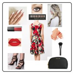 """""""Style Insider-4: Contest Entry"""" by haybeebaby on Polyvore featuring Dolce&Gabbana, Tt Collection, MICHAEL Michael Kors, Smashbox, Charlotte Tilbury, Forever 21, Bobbi Brown Cosmetics, Gucci, contestentry and laceupsandals"""