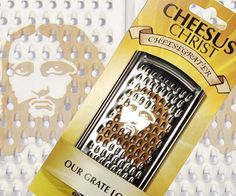 Cheesus Christ Cheese Grater | DudeIWantThat.com