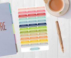 Pinning for later! These stickers are perfect. Available at Crafted By Corley on Etsy. Hydrate Vintage Colors Sticker - Planner Sticker Hydrate Tracker Hydrate Planner Water Intake Water Tracker Life Planner Water Sticker by CraftedByCorley