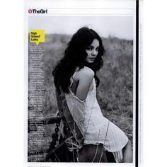GQ Editorial 'High School' Lolita, May 2008 Shot #1 - MyFDB ❤ liked on Polyvore featuring editorials and vanessa hudgens
