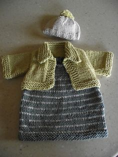 Ravelry: Olivia Doll Outfit: Dress, Jacket, & Hat pattern by Lion Brand Yarn