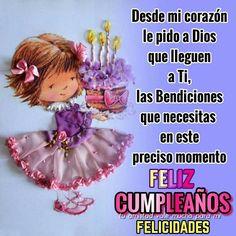 Spanish Birthday Wishes, Happy Birthday Wishes Cards, Birthday Cards, Happy Birthday Ballons, Happy Birthday Photos, Kristen Stewart Pictures, Emoji Love, Get Well Cards, Love Images
