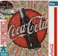 Photomosaic Coca-Cola Jigsaw Puzzle