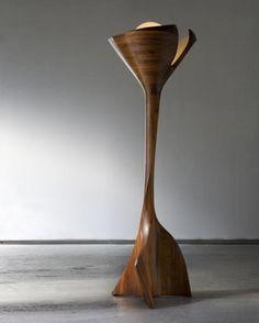 """Wood Floor Lamp from """"Unique Floor Lamps"""""""