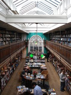 Daunt Books in London, great travel bookshop.