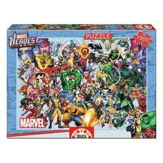 Puzzle Marvel Heroes Educa (1000 pcs)
