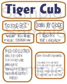 tiger cub - look at this resource