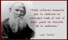 El buen juicio no necesita de la violencia