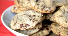 Walnut Chocolate Chunk Cookies : Take chocolate chip cookies to the next level with chunks of semi-sweet chocolate and crunchy walnuts. Photo credit: Susan Whetzel from Doughmesstic.