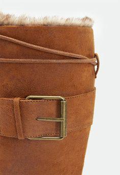 So flauschig! Addison Schuhe in Schwarz - günstig kaufen bei JustFab