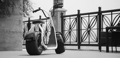 Scrooser electric city scooter. The eco-friendly mobility solution