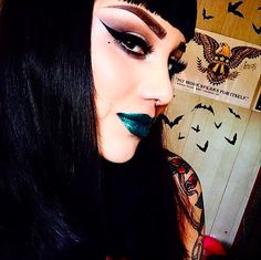 @sillymona in Vivid Addiction's Oz lipstick