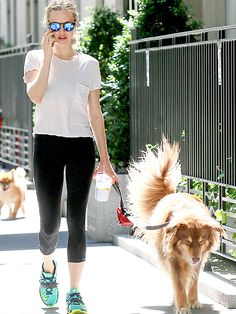 Star Tracks: Monday, August 3, 2015 | DOG-GONE IT | Amanda Seyfried shows off her new, shorter do while out for a Friday walk with her dog Finn in N.Y.C.
