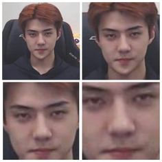 Staring at you to stfu Sehun, Kpop Exo, Meme Pictures, Reaction Pictures, Meme Faces, Funny Faces, K Pop, Bip Bip, Celebrity Singers
