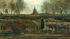 A painting by Vincent van Gogh has been stolen overnight from a museum where it was being displayed on loan. The work from 1884, titled The Parsonage Garden at Nuenen in Spring, was taken at around 3.15am on Monday from the Singer Museum in Laren, near Hilversum. The thieves gained entry by forcing open the glass front door. Singer Museum said there had been no lapse in its security procedures. 'We have established that with our insurance experts, but clearly...
