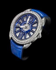 Celebrating the Regency dandy Beau Brummell. Ideal Cut Diamond, Diamond Cuts, Diamond Watches For Men, Ladies Watches, Wrist Watches, Beau Brummell, Swiss Luxury Watches, Jewelry Photography, Fashion Watches