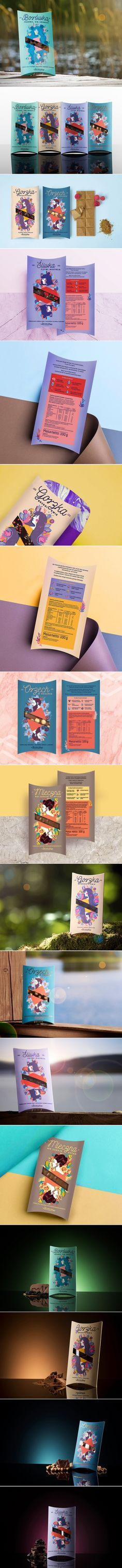 Each Flavor of These Chocolates Comes With a Distinct Personality — The Dieline | Packaging & Branding Design & Innovation News