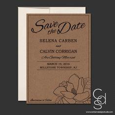 Magnolia Save the Date – Carben Design Studio