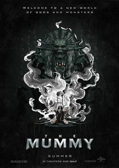 #TheMummy #alternative poster design. My second submission for the creative invite by Talenthouse