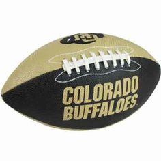 Colorado Buffaloes Junior Football $16.99 #cubuffs