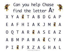 Learn To Write The Lowercase Letter F With Marshall From Paw