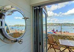 Tiny beach hut living... http://beachblissliving.com/beach-hut-rentals/
