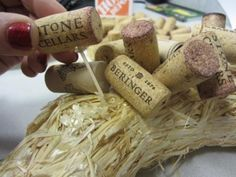 cork wreath how to from home depot                                                                                                                                                                                 More