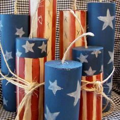 Diy Crafts For Home Decor, Outdoor Crafts, Craft Projects For Kids, Preschool Arts And Crafts, Diy Arts And Crafts, Crafts To Do, Senior Crafts, Crafts For Seniors, Patriotic Crafts