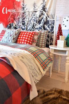 Holiday Shop | DENY Designs Home Accessories red/black plaid blanket by zoe wodarz
