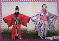 Carnevale - tutorial facile per fare un kimomo