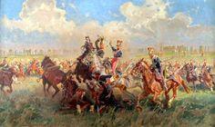 Lancieri polacchi della guardia imperiale e francese