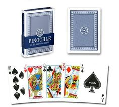 Single Blue Deck Pinochle Playing Cards by Brybelly by Brybelly. Single Blue Deck Pinochle Playing Cards by Brybelly.