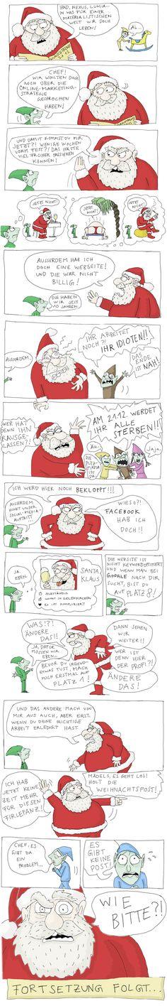 Kann der Weihnachtsmann eigentlich SEO? Und wie sieht sein Facebook-Profil aus?