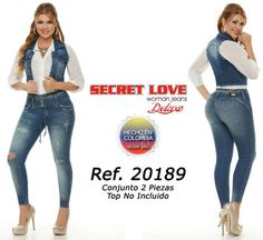 Conjunto Jeans Secret Love Cod:9783