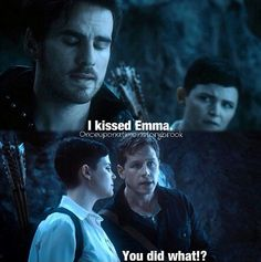I love how Hook said that like it was the most horrible, wretched thing he had ever done and was so ashamed of himself xD