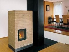 Wood Stoves From Rammed Earth